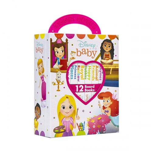 Disney Baby Princess :  Book Block 12 Book Set (Board book)