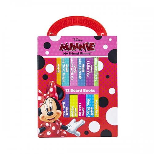 Disney My Friend Minnie Mouse : Book Block 12 Book Set (Board book)