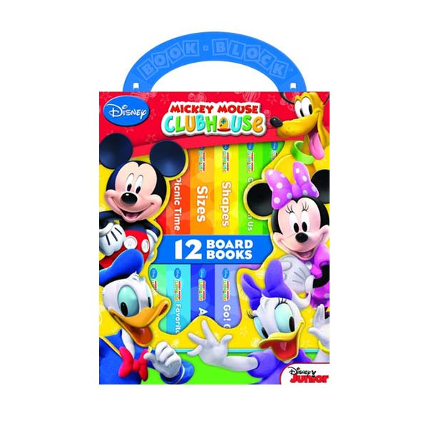 Disney Mickey Mouse Clubhouse 12 Board Books : My First Library (Board book)