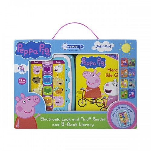 Peppa Pig : Electronic Me Reader Jr and 8-Book Library (Board Book)