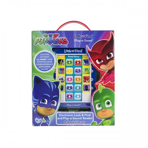 PJ Masks : Electronic Me Reader and 8-Book Library (Board Book)