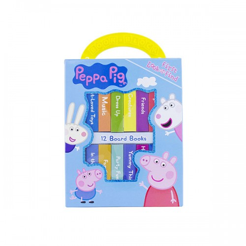 Peppa Pig : My First Library Board Book Block 12 Book Set (Board Book)