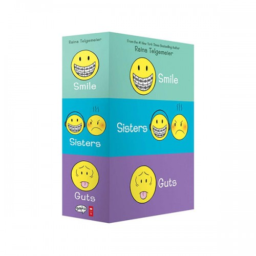 Smile, Sisters, and Guts : The 3종 Boxed Set (Paperback, 풀컬러)