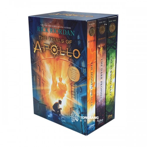 The Trials of Apollo #01-3 Books Boxed Set (Paperback)(CD없음)