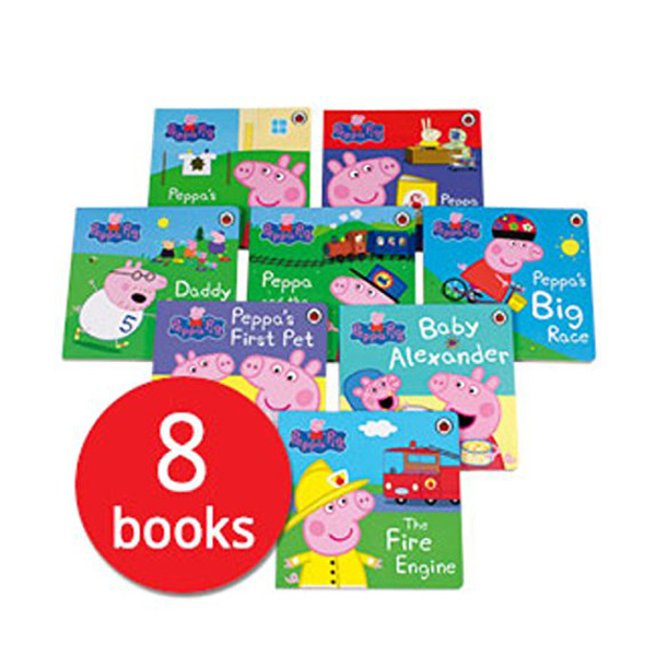 Peppa First Experience 8종 Set (Board Book. 8권)