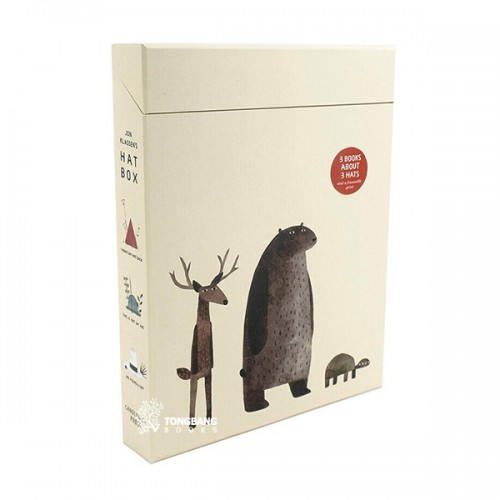 Jon Klassen's Hat - 3 Books Boxed Set (Hardcover, 영국판) (CD 미포함)