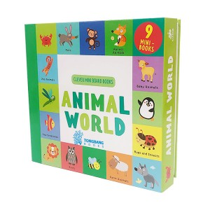 Animal World : 9 Mini Board Book Box Set (Board book)