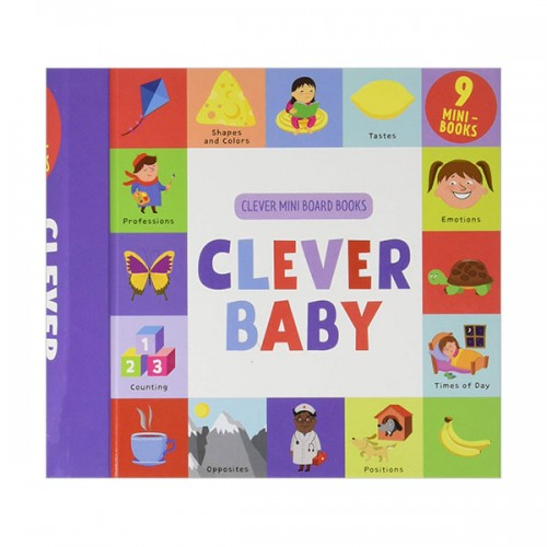 Clever Baby : 9 Mini Board Book Box Set (Board book)