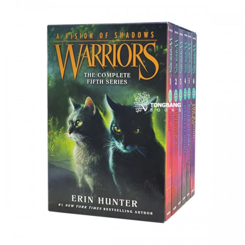 Warriors 6부 A Vision of Shadows #01-6 Box Set (Paperback)(CD없음)