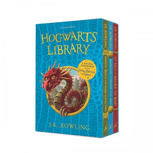 The Hogwarts Library 3종 Box Set (Paperback, 영국판) (CD 미포함)