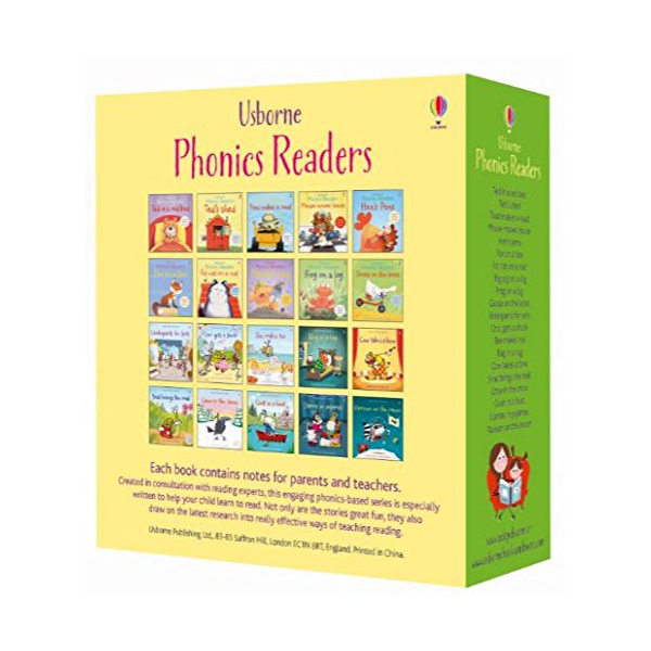 Usborne Phonics Young Readers 12 Books Box Set (Paperback, 12권)