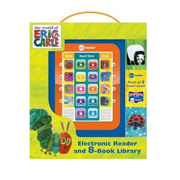 ★키즈코믹콘★World Of Eric Carle : Me Reader Electronic & 8 Book Library (Hardcover)