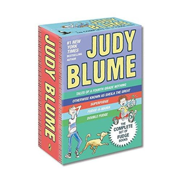 Judy Blume's Fudge 챕터북 5종 Box Set (Paperback)(CD미포함)