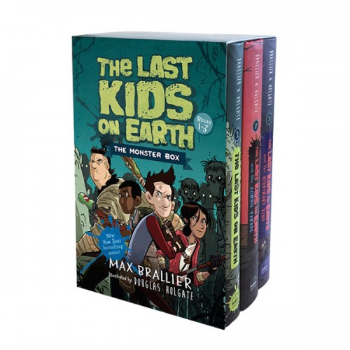 [넷플릭스] The Last Kids on Earth #01-03 : The Monster Box (Hardcover, 3종) (CD없음)