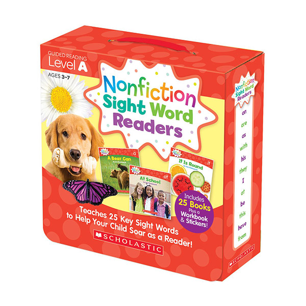 [스콜라스틱] Nonfiction Sight Word Readers Level A (26 Books+CD)