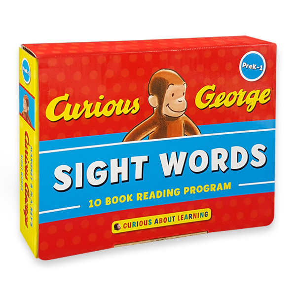 Curious George Sight Words : 10-Book Reading Program (Paperback) (CD미포함)