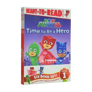 PJ Masks Ready-To-Read level 1 Value Pack (Paperback, 6권)