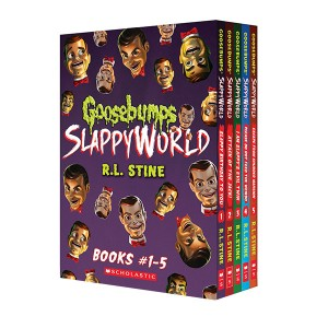 Goosebumps SlappyWorld Box Set : Books 1-5 (Paperback)(CD없음)