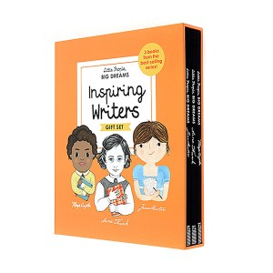 Little People, Big Dreams : Inspiring Writers (Hardcover, 영국판) (CD미포함)
