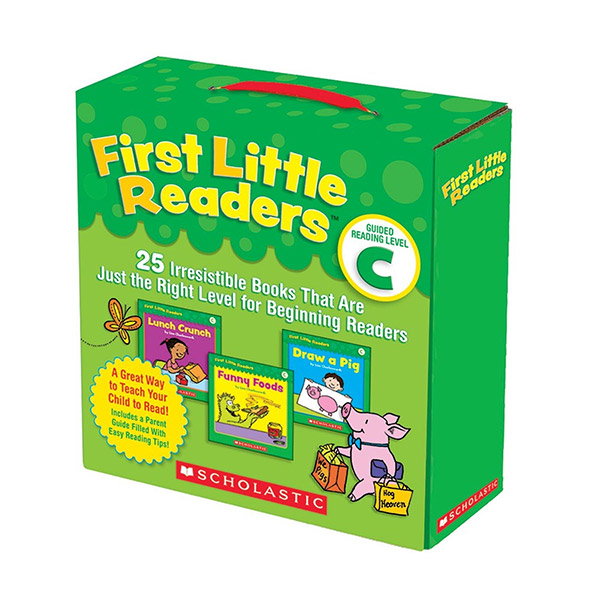 First Little Readers Reading Level C (Box, 25 books)(CD없음)