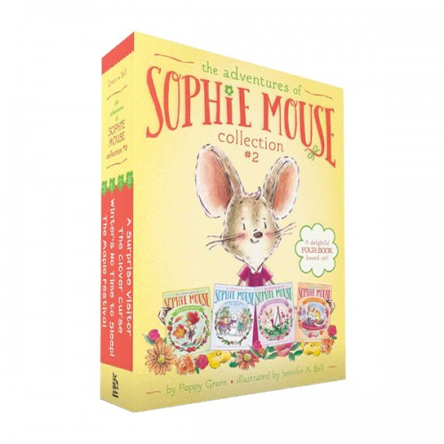 The Adventures of Sophie Mouse Collection : #05-08 (Paperback, 4종) (CD미포함)