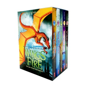 Wings of Fire #06-10 Books Boxed set  (Paperback, 5종)(CD미포함)