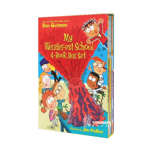 My Weirder-est School 4 Book Box Set (Paperback, 4종) (CD미포함)