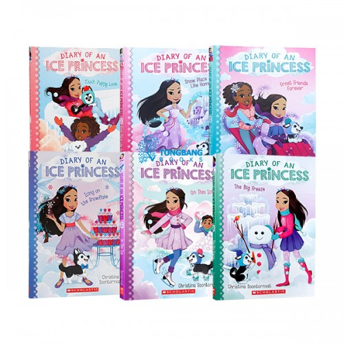 Diary of an Ice Princess 챕터북 4종 세트 (Paperback) (CD 없음)