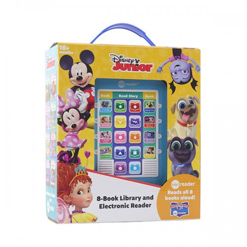 Disney Junior  : Electronic Me Reader and 8-Book Library (Hardcover)