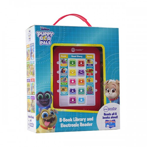 Disney Puppy Dog Pals : Electronic Me Reader and 8-Book Library (Hardcover)