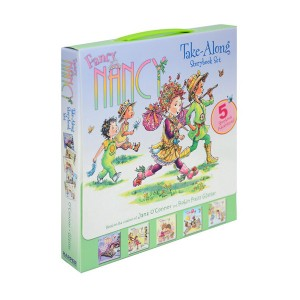 Fancy Nancy Take-Along Storybook Set (Paperback) (CD 미포함)