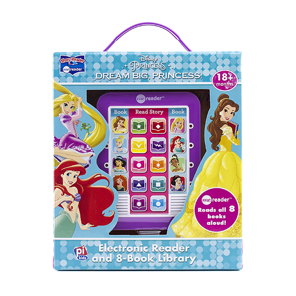 Disney Princess Electronic Me Reader and 8-Book Library : Dream Big, Princess (Hardcover)