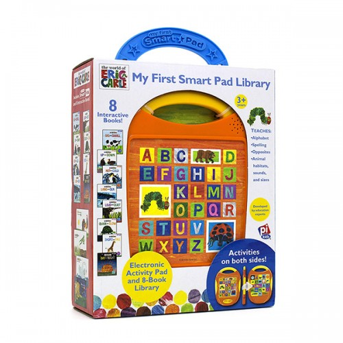 Eric Carle : My First Smart Pad Library (Hardcover, 8종)
