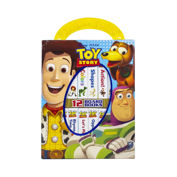 Disney Toy Story : My First Library Board Book Block 12 Book Set (Board book)