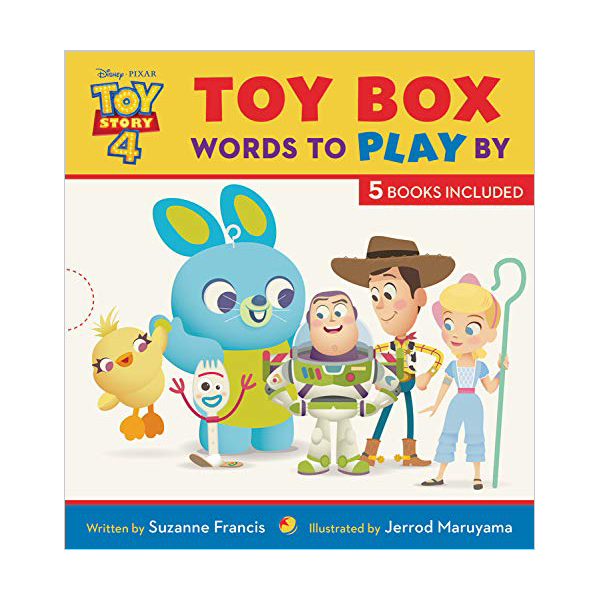 Toy Story 4 : Toy Box : Words to Play By 픽쳐북 하드커버 5종 Box Set