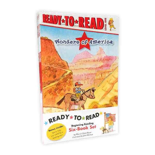 Ready To Read 1 : Wonders of America Ready-To-Read Value Pack (Paperback, 6권)