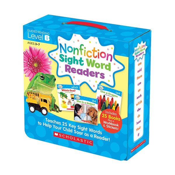 Nonfiction Sight Word Readers Level B (26 Books + 1CD)