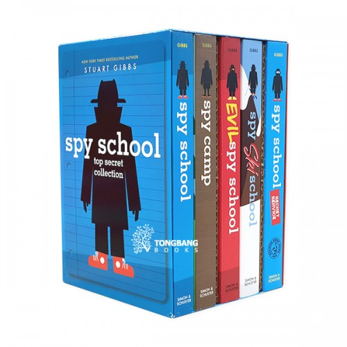Spy School Top Secret Collection : #01-5 Books Boxed Set (Paperback)(CD없음)