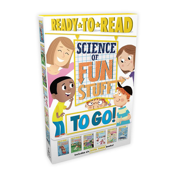 RL 5.2~5.9 : Ready To Read 3 : Science of Fun Stuff to Go! (Paperback, 6권)
