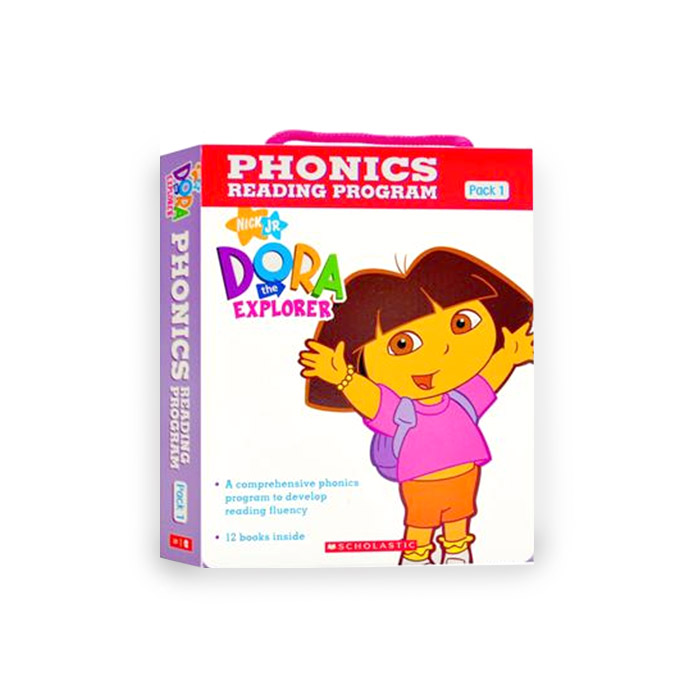 Dora the Explorer : Phonics Reading Program Pack 1 (12 Paperbacks + 1 CD)