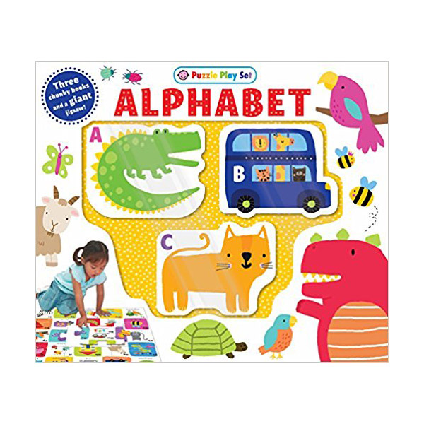 Puzzle Play Set: Alphabet (Mini Board Book+Puzzle)