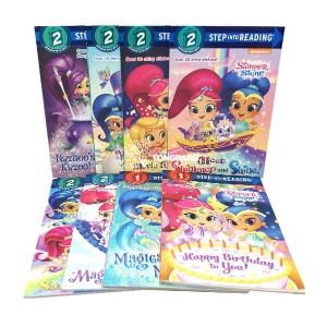 Step Into Reading 1,2단계 Shimmer and Shine 시리즈 리더스북 8종 세트(Paperback) (CD없음)