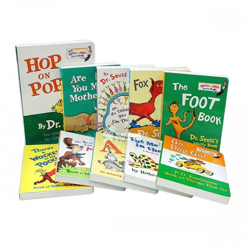 Dr. Seuss 닥터수스 Bright and Early Board Books 9종 세트 (Board Book) (CD없음)