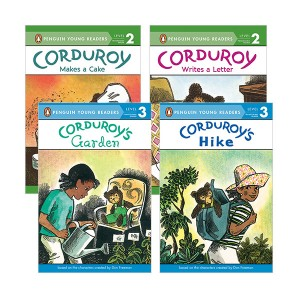 Penguin Young Readers Level 2,3 : Corduroy 시리즈 리더스북 4종 세트 (Paperback)(CD없음)