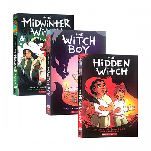 The Witch Boy 시리즈 그래픽노블 3종 세트 (Paperback, Full Color) (CD없음)
