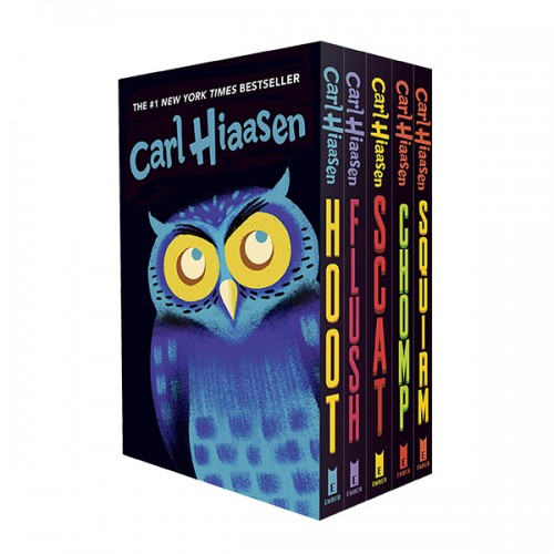 Hiaasen 5-Book Trade Paperback Box Set (Paperback) (CD미포함)