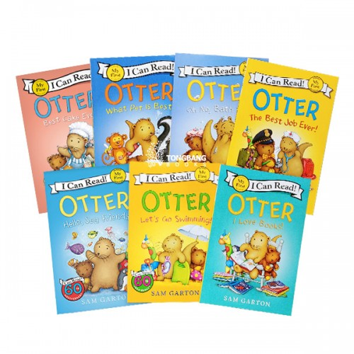 My First I Can Read : Otter 시리즈 리더스북 6종 세트 (Paperback) (CD없음)