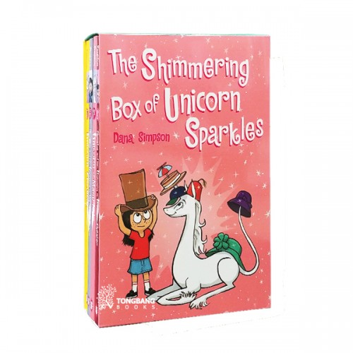 The Shimmering Box of Unicorn Sparkles : Phoebe and Her Unicorn Box Set Volume 5-8 (Paperback) (CD없음)