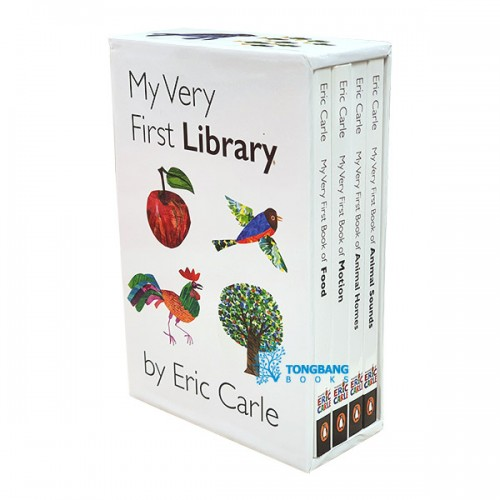My Very First Eric Carle Library #2 Boxed Set (Board Book) (CD미포함)