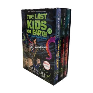 [넷플릭스] The Last Kids on Earth #04-06 : Next Level Monster Box (Hardcover, 3종) (CD없음)